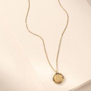 Stella & Dot Jewelry - NIB Stella & Dot Julia Coin Pendant